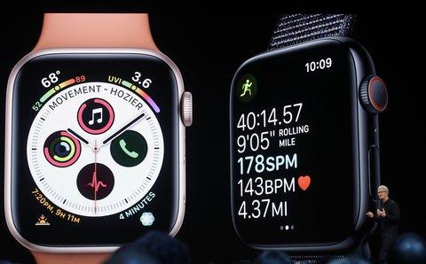 Vorstellung der Apple Watch 4.