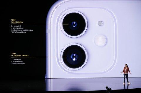 Sowohl die Weitwinkel- als auch die Ultraweitwinkelkamera des iPhone 11 haben eine Auflösung von 12 Megapixeln.